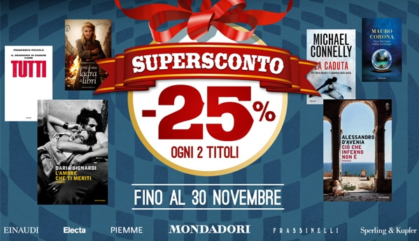 supersconto mondadori