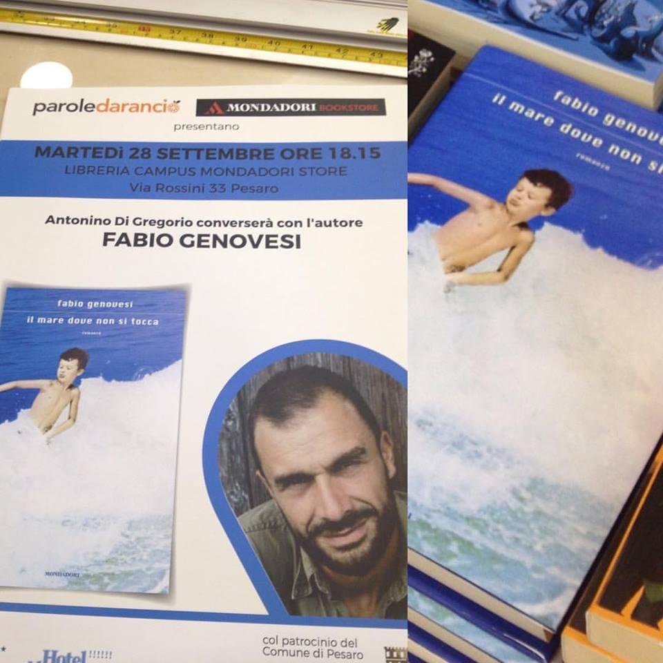 Fabio Genovesi a Pesaro il 28 settembre alle 18.15