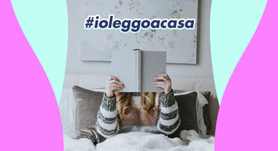 #IOLEGGOACASA E I LIBRI TE LI PORTIAMO NOI